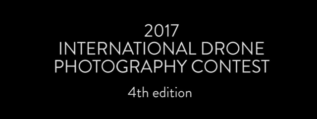 2017 International Drone Photography Contest