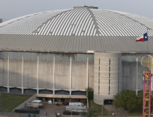 The Astrodome, Getting A New Perspective From The Air